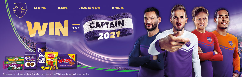 Win the 2021 Captain with Cadbury