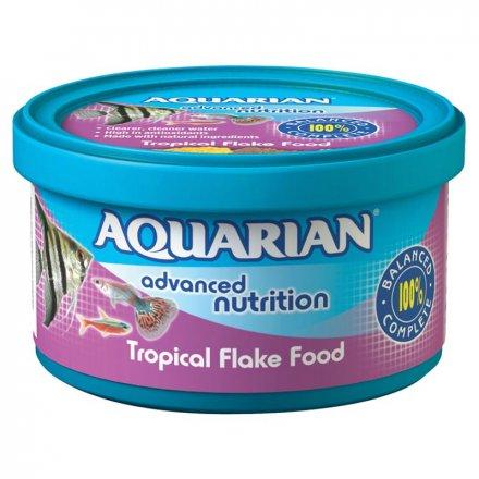 Aquarian Tropical Fish Food Flakes
