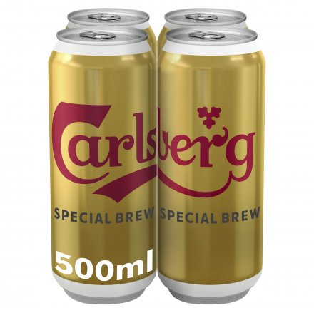 Carlsberg Special Brew Cans