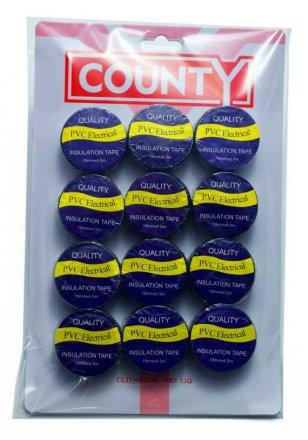 County Black Insulation Tape