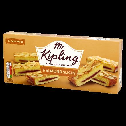 Mr Kipling Almond Slices