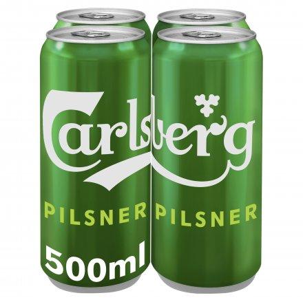 Carlsberg Pilsner Cans