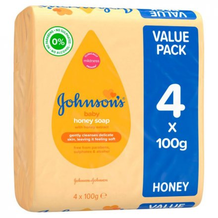 Johnsons Baby Soap 738