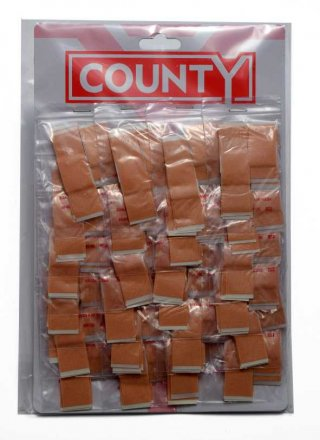 County Assorted Fabric Cut Dressing - 10 Pack