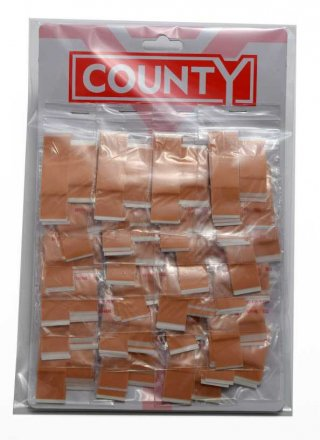 County Assorted Washproof Cut Dressings - 10 Pack