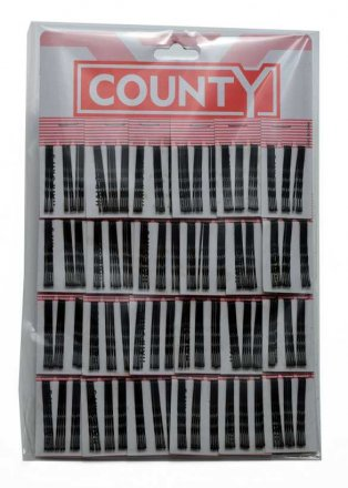 County Hair Grips - 12 Pack