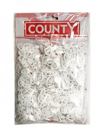 County Curtain Hooks - 24 Pack