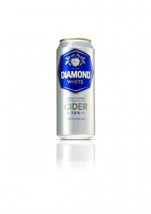 Diamond White Cider Can