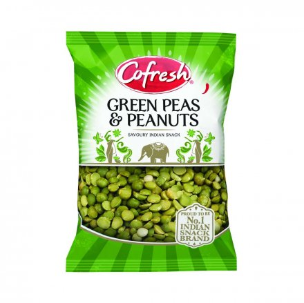 Bag Green Peas Spicy With Peanuts