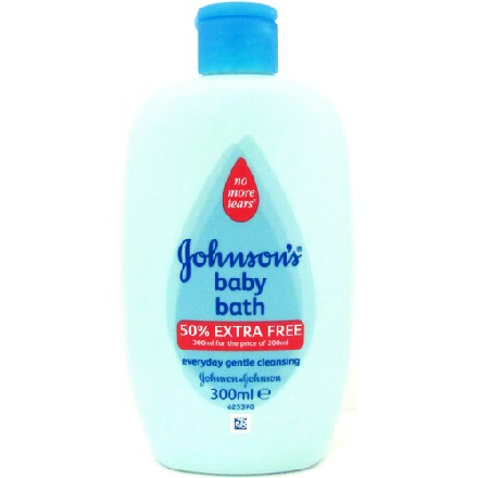 Johnson & Johnson Baby Bath + 50%