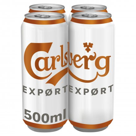 Carlsberg Export Cans