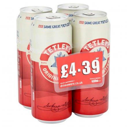 Tetley Original PMP £4.39 4Pk
