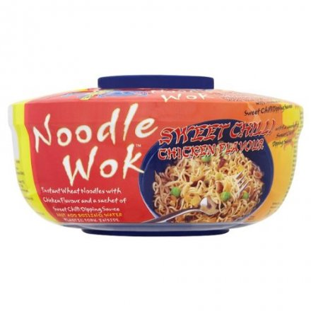 Blue Dragon Sweet Chilli Chicken Flavour Noodle Wok