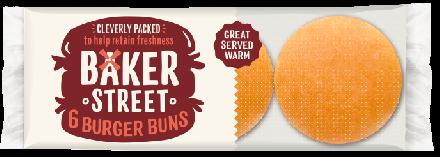 Baker Street 6 Plain Burgers