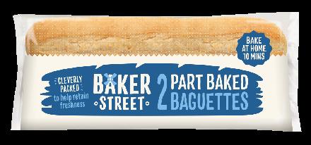Baker Street 2 Part-Baked Baguettes