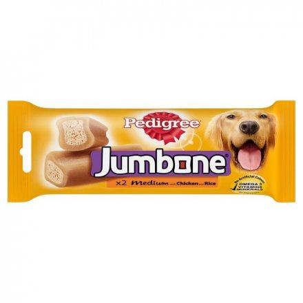 Pedigree Jumbone Medium Chicken Dog Bone 2 Chews