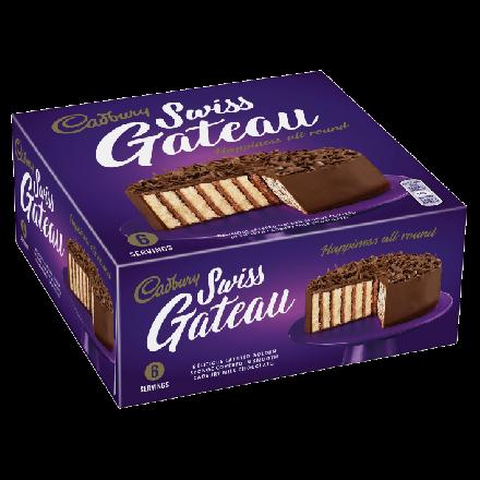 Cadbury Chocolate Swiss Gateau