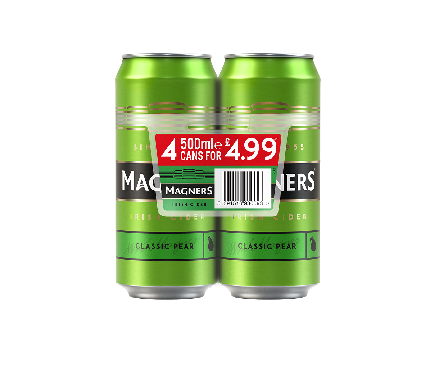 Magners Pear PMP Cans