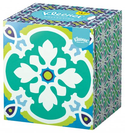 Kleenex Cube Collection Tissue PM £1.69