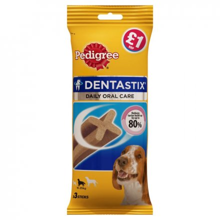 Pedigree Dentastix Medium Dog Dental Chews PM £1