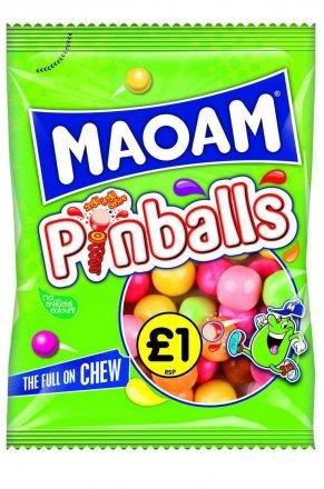 Maoam Pinballs PM £1