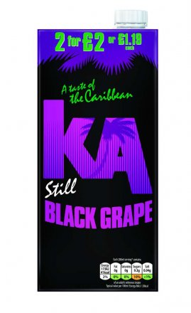 Ka Black Grape PM £1.19/2 For £2