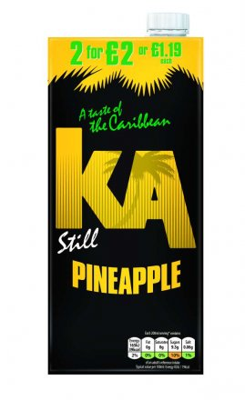 Ka Pineapple PM £1.19/2 For £2