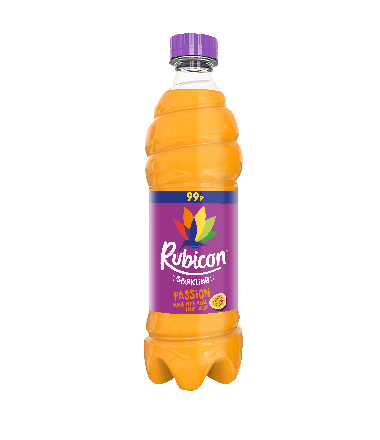 Rubicon Passion Fruit Sparkling PET PM 99p