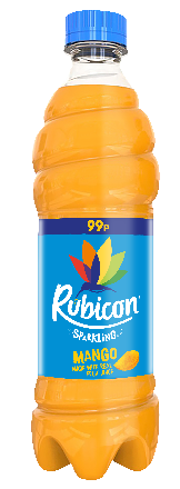 Rubicon Mango Sparkling PET PM 99p