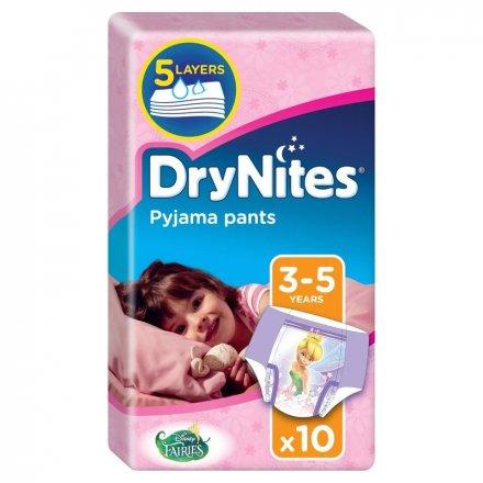 Huggies Dry Nites 3-5 Girl