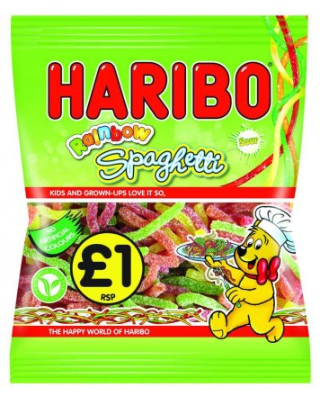 Haribo Rainbow Spaghetti Z!ng PM £1