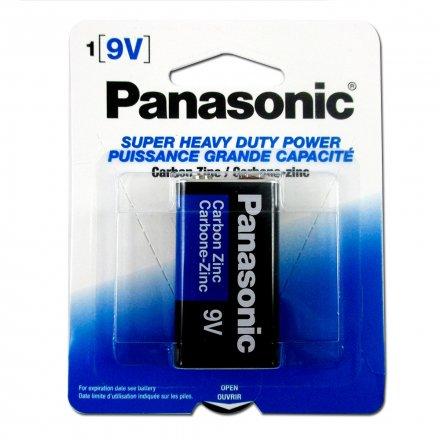 Panasonic Zinc 9V R22 Batteries