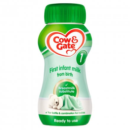 Cow & Gate First Pb En Ready To Drink Formula