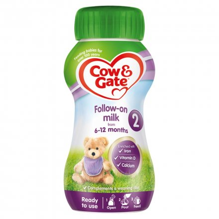 Cow & Gate Follow On Pb En Ready To Drink Formula