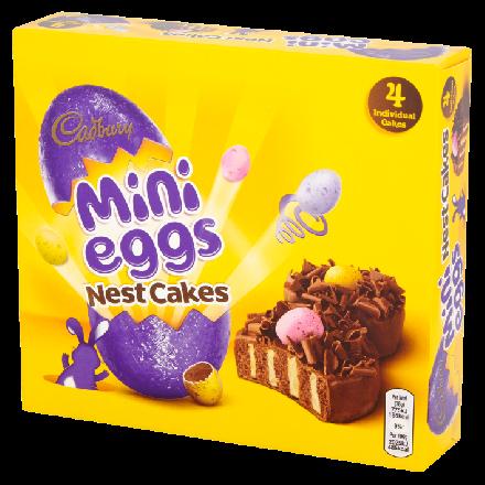 Cadbury Mini Eggs Nest Cakes