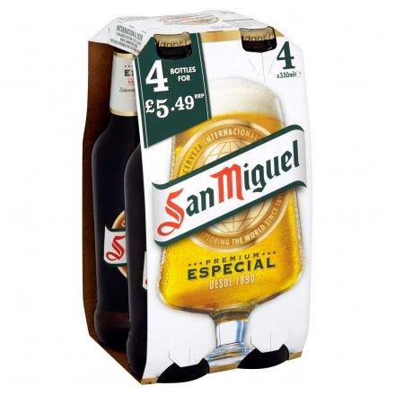 San Miguel PMP £5.49 4Pk