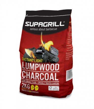 Supagrill Instant Light Lumpwood Charcoal