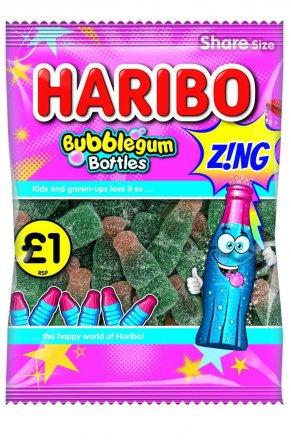 Haribo Bubblegum Bottles Z!ng PM £1