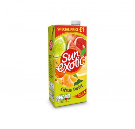 Sun Exotic Citrus Twist Drink PM £1