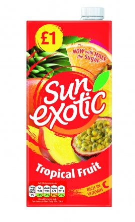 Sun Exotic Tropical Drink PM £1