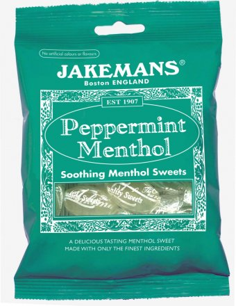 Jakemans Peppermint Menthol Bag