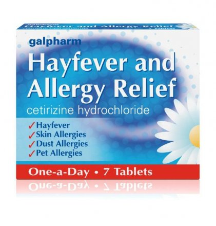 Hayfever & Allergy Tablets - 7 Pack