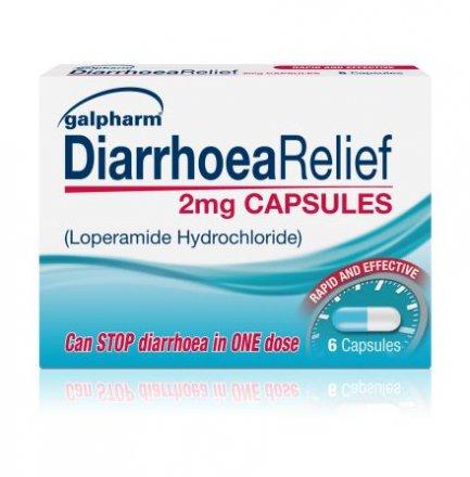 Diarrhoea Relief Capsules
