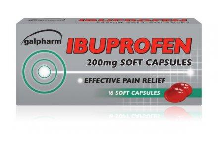 Ibuprofen Liquid Capsules