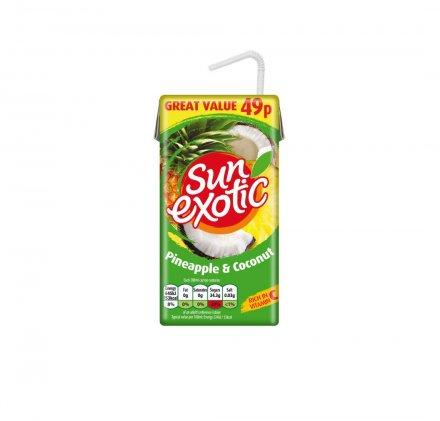 Sun Exotic Pineapple & Coconut Juice PM 49p