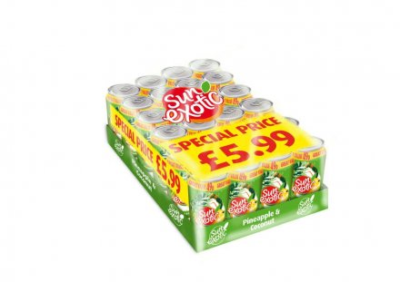 Sun Exotic Pine & Coconut Cans PM 49p