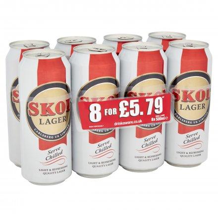 Skol Lager PMP £5.79 8Pk