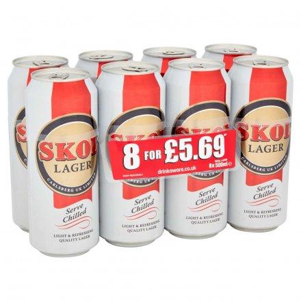 Skol Lager PMP £5.69 8Pk