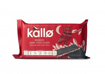 Kallo Organic Dark Chocolate Rice Cakes