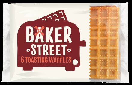 Baker Street Toasting Waffles - 6 Pack